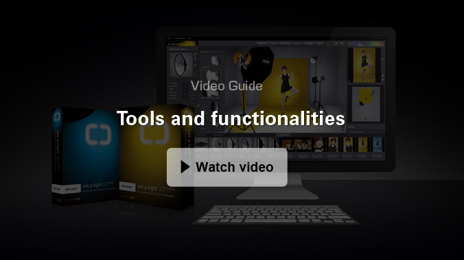 Tools and functionalities
